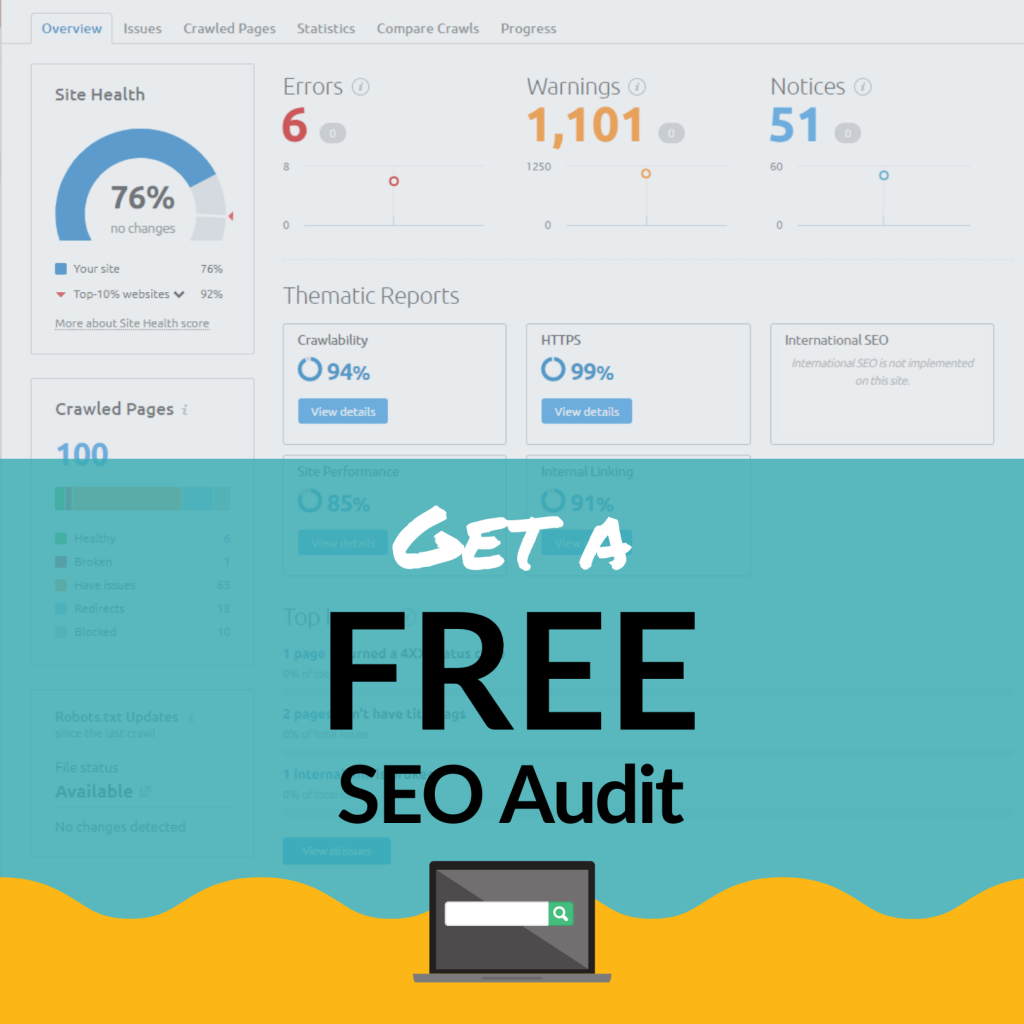 FREE SEO Audit - Holistic Digital